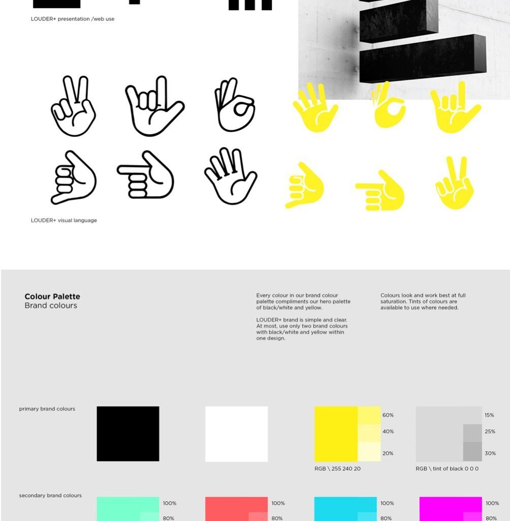 louder-branding-iconography