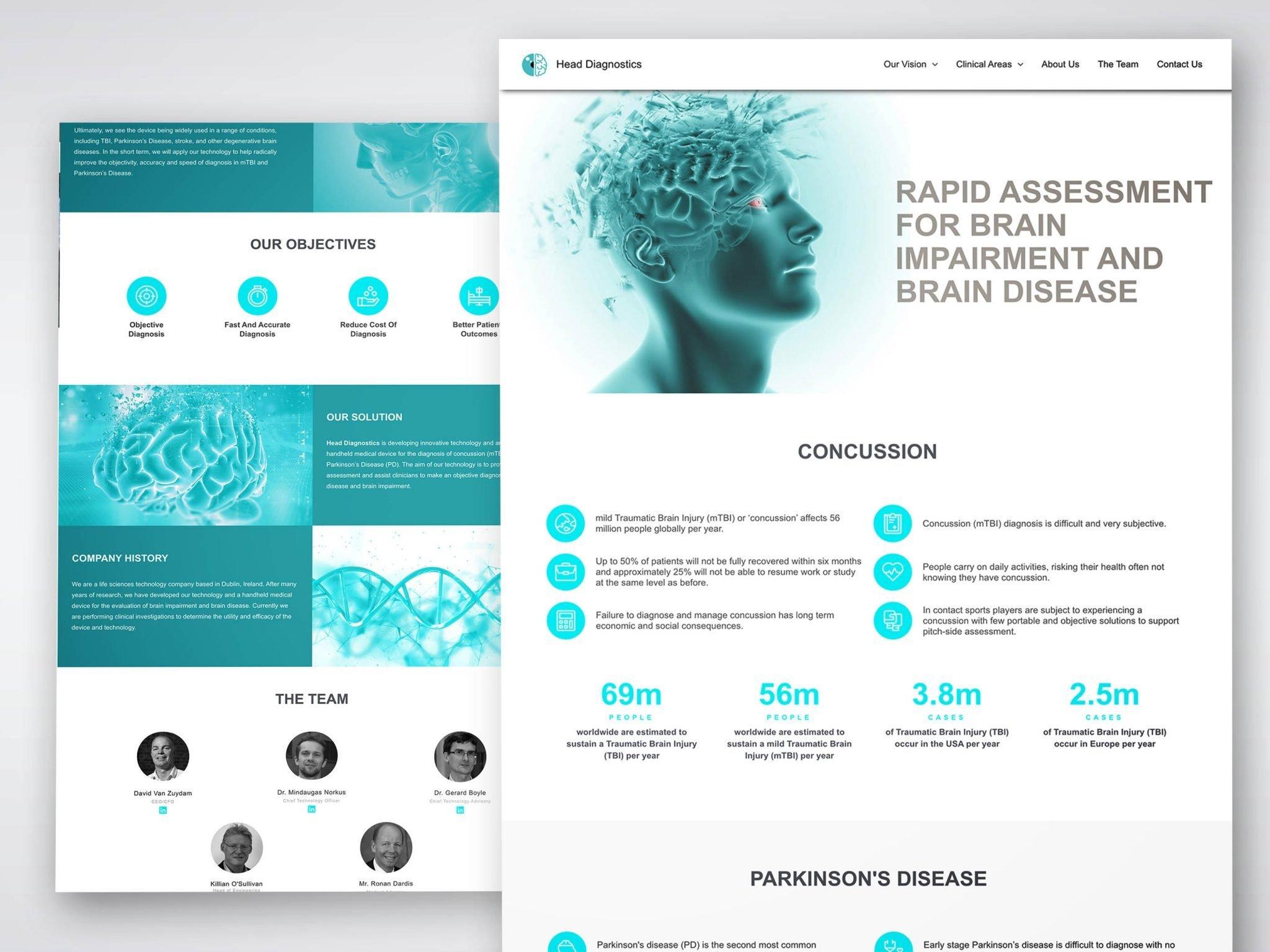 head-diagnostics-web-design
